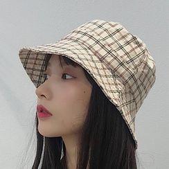 Pompabee - 格子漁夫帽