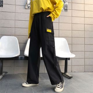 Sevilla - Pocket Detail Wide-Leg Pants