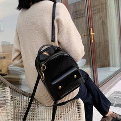 della renna - Faux Leather Mini Backpack