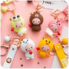 Momoi - Cartoon Keyring (various designs)