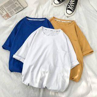FOEV - Pocket Detail Short-Sleeve T-Shirt