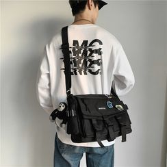 Beamie(ビーミー) - Buckled Nylon Crossbody Bag