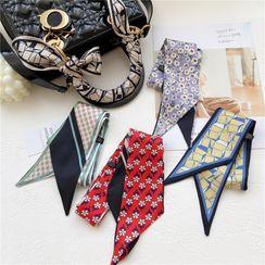 uber ushi - Printed Scarf Hair Tie / Handbag Decoration