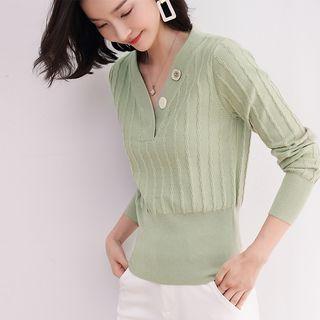 Femto - V-Neck Sweater
