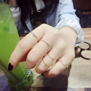 Ticoo - Set of 5: Rings