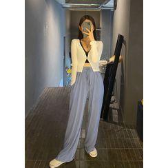 chuu - Drawcord-Waist Lounge Pants