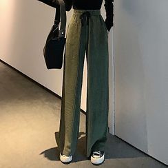 Ashlee - Corduroy Wide Leg Pants