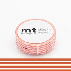 mt - mt Masking Tape : mt 1P Border Bright Orange