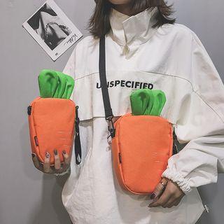 Diamante - Carrot Accent Crossbody Bag