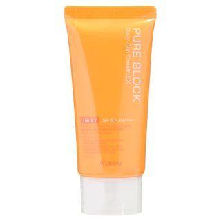 A'PIEU - Pure Block Natural Daily Sun Cream SPF45 PA+++ 50ml