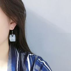PANGU(パング) - Color Cube Earrings