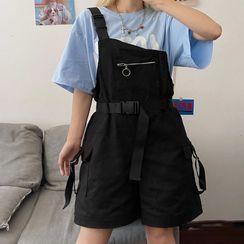Modern People - Cargo Wide-Leg Jumper Shorts