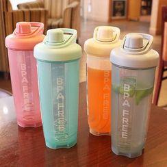 Cuplet - Lettering Plastic Shaker Drinking Bottle