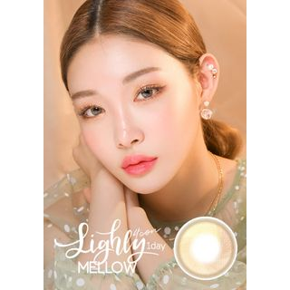 LENS TOWN - Lighly Mellow 1-Day Color Lens #Brown