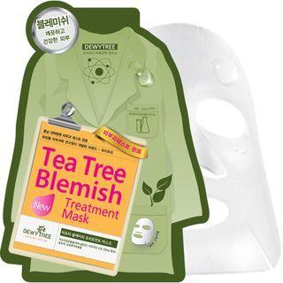 DEWYTREE - Tea Tree Blemish Treatment Mask 10pcs