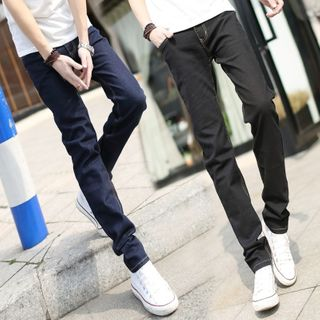 DuckleBeam - High-Waist Skinny Jeans