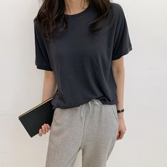 Hello sweety - Relaxed-Fit Silky T-Shirt