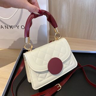 Diamante(ディアマンテ) - Top Handle Flap Crossbody Bag