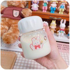 默默愛 - 動物印花玻璃水瓶