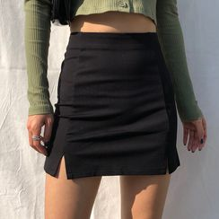 OCRE - Mini Pencil Skirt