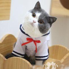 Catland - School Uniform Pet Top