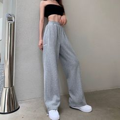Yinyanna - 寬腿運動褲