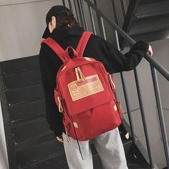 Rocktail - Applique Square Canvas Backpack