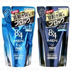Kao 花王 - 8 x 4 Men Body Wash Refill 300ml - 2 Types