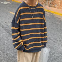 除一 - 条纹毛衣