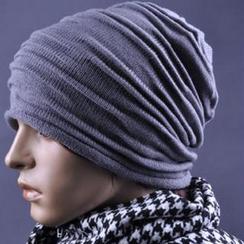 JVL - 褶皱款针织无边帽