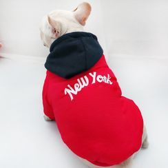 Seven Heaven - Lettering Hooded Pet Top