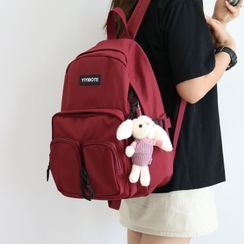 Little Days - Lightweight Embroidered Backpack