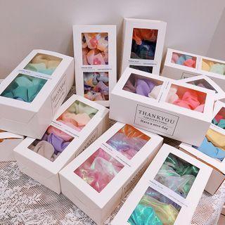 Hazy Beauty - Set of 5: Printed Scrunchie