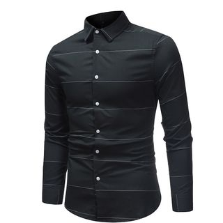 Sheck(シェック) - Striped Shirt