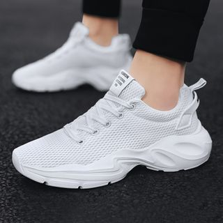 Chaoqi - Plain Athletic Sneakers