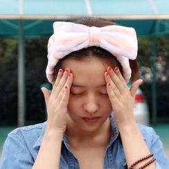DEBE - 蝴蝶結裝飾頭帶