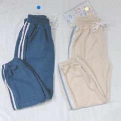 Aquazine - Striped Sweatpants
