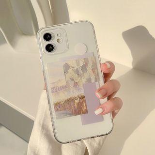 Moonam - Label Phone Case - Iphone 7 / 8 / Se, 7 Plus / 8 Plus, X / Xs, Xs Max, Xr, 11, 11 Pro, 11 Pro Max, 12 Mini, 12, 12 Pro, 12 Pro Max, 13mini, 13, 13pro, 13pro Max