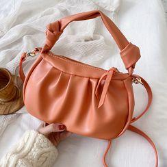 JAMEL - Faux Leather Crossbody Bag