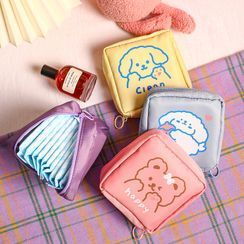 Eranso - Cartoon Print Sanitary Pouch