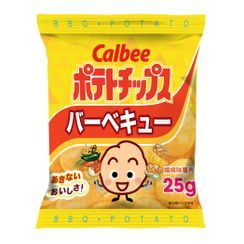 Calbee - Potato Chips Barbecue Flavor 25g