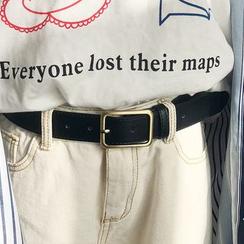 CIMAO - Faux Leather Belt
