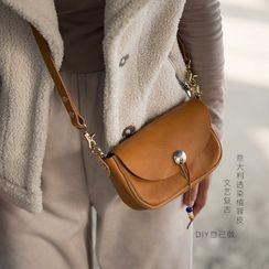 Carpaccio - DIY Genuine Leather Flap Crossbody Bag