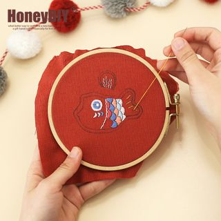 DOLLIY - Baby DIY Embroidered Amulet Kit