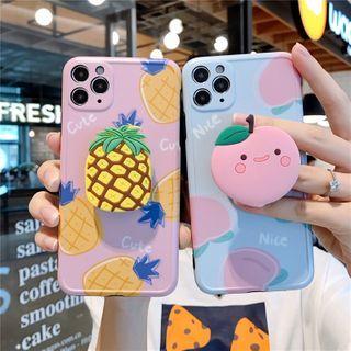 Zone Zero(ゾーンゼロ) - Fruit Stand Phone Case - iPhone 11 Pro Max / 11 Pro / 11 / SE / XS Max / XS / XR / X / SE 2 / 8 / 8 Plus / 7 / 7 Plus
