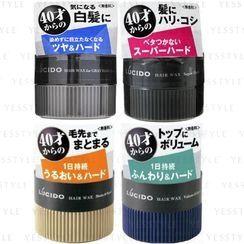 Mandom - Lucido Hair Wax 80g - 4 Types