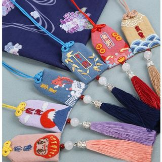 Embroidery Kingdom - Tassel Amulet Hanging Ornament DIY Embroidery Kit