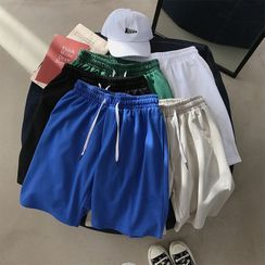 Gonzalito - Knee-Length Drawcord Shorts