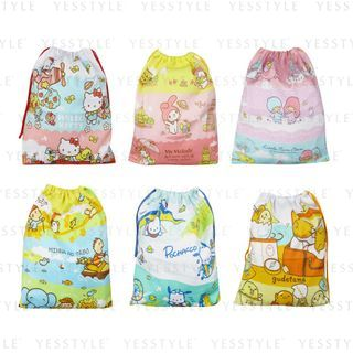 Sanrio - Drawcord Big Bag - 7 Types