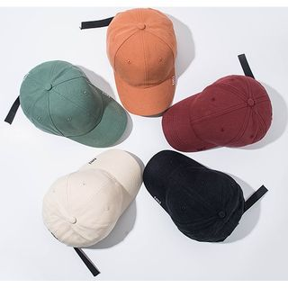 Hat Society - Embroidered Lettering Baseball Cap